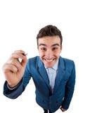 Close-up do homem de negócios imagem de stock royalty free