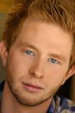 Close-up do homem novo Imagem de Stock Royalty Free