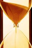 Close up do Hourglass imagens de stock