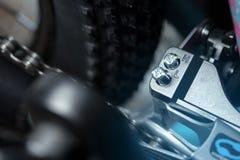 Close-up do interruptor da bicicleta fotos de stock royalty free