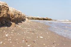 Close up do litoral Foto de Stock Royalty Free