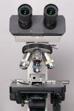 Close up do microscópio Fotografia de Stock Royalty Free