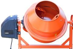 Close up do misturador concreto foto de stock