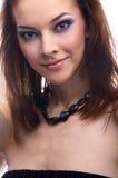 Close-up do modelo bonito Imagens de Stock