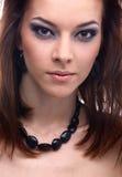 Close-up do modelo bonito Fotografia de Stock