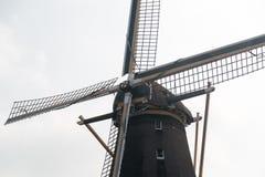 close up do moinho de vento no dia Fotografia de Stock Royalty Free