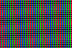 close-up do monitor do LCD do pixel Fotografia de Stock Royalty Free