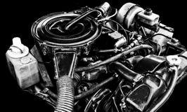 Close-up do motor Foto de Stock Royalty Free