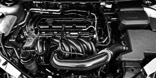 Close-up do motor Fotografia de Stock