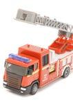 Close up do motor de incêndio no branco Imagens de Stock Royalty Free