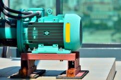 Close up do motor elétrico imagem de stock royalty free
