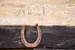 Close up do número da casa 21 fotos de stock royalty free