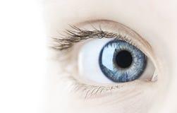 Close up do olho fotos de stock