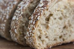 Close-up do pão fotos de stock royalty free