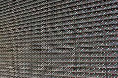 Close-up do painel do diodo emissor de luz Imagens de Stock Royalty Free