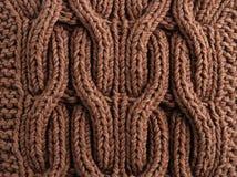 Close-up do pano feito malha Fotografia de Stock Royalty Free