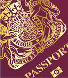 Close up do passaporte Imagens de Stock Royalty Free