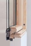 Close up do perfil da janela da claraboia ou do telhado Imagem de Stock Royalty Free