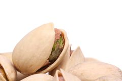 Close-up do pistache Imagens de Stock