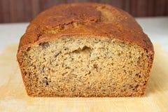 Close up do pão de banana Foto de Stock Royalty Free