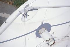 Close-up do prato muito grande do telescópio de rádio da disposição de VLA fotografia de stock royalty free