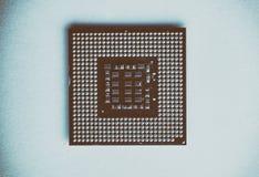 close up do processador central para o PC Imagem de Stock Royalty Free