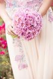Close up do ramalhete do casamento Imagem de Stock