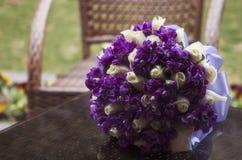 Close up do ramalhete do casamento Imagens de Stock Royalty Free