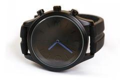 Close-up do relógio do ` s dos homens Fotografia de Stock