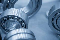 Close-up do rolamento de esferas do metal fotos de stock