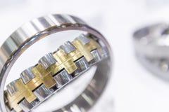Close-up do rolamento do rolamento imagem de stock royalty free