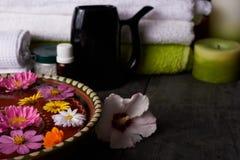 Close up do salão de beleza dos termas Imagem de Stock