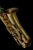 Close up do saxofone de Ternor Foto de Stock