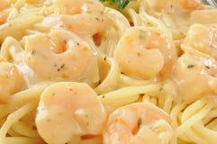 Close up do scampi do camarão Fotografia de Stock Royalty Free