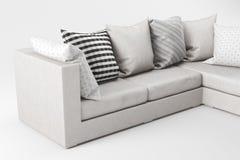 Close-up do sofá ilustração royalty free