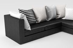Close-up do sofá Imagens de Stock