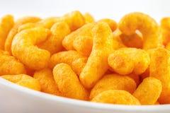 Close up do sopro do queijo Imagens de Stock