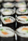 Close up do sushi imagem de stock