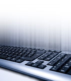 Close up do teclado Foto de Stock Royalty Free