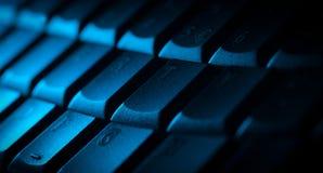 Close-up do teclado com espaço da cópia Imagens de Stock