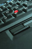 Close up do teclado do portátil Imagem de Stock