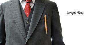 Close up do terno de negócio com espaço da cópia Imagem de Stock Royalty Free