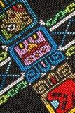 close up do teste padrão do Micro-grânulo Imagens de Stock Royalty Free