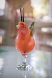 Close up do vidro do cocktail Imagem de Stock Royalty Free