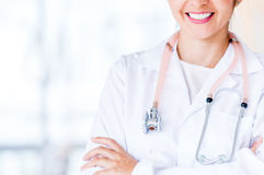 Close up of a doctor Royalty Free Stock Photo