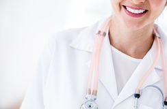Close up of a doctor Royalty Free Stock Image