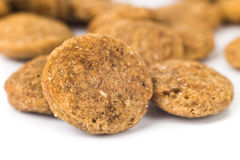 Close up of Dog Kibbles Royalty Free Stock Photo