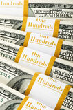 Close up of dollar Stock Images