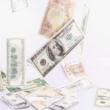 Close up of dollar bill Stock Photos