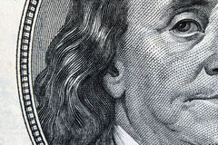 Close up of dollar bill Stock Photo